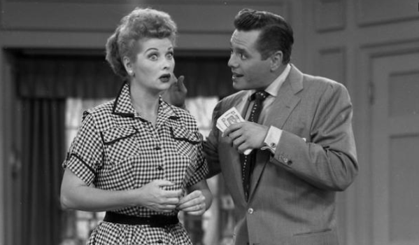 i love lucy in black and white