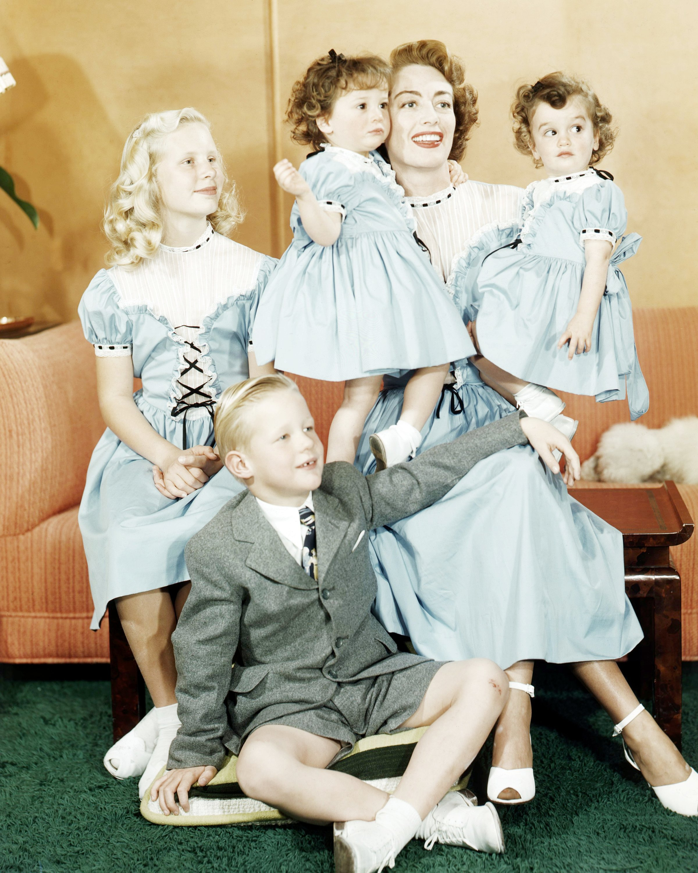 joan crawford and children