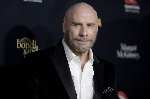 john travolta bald head 2019 G'Day USA Gala