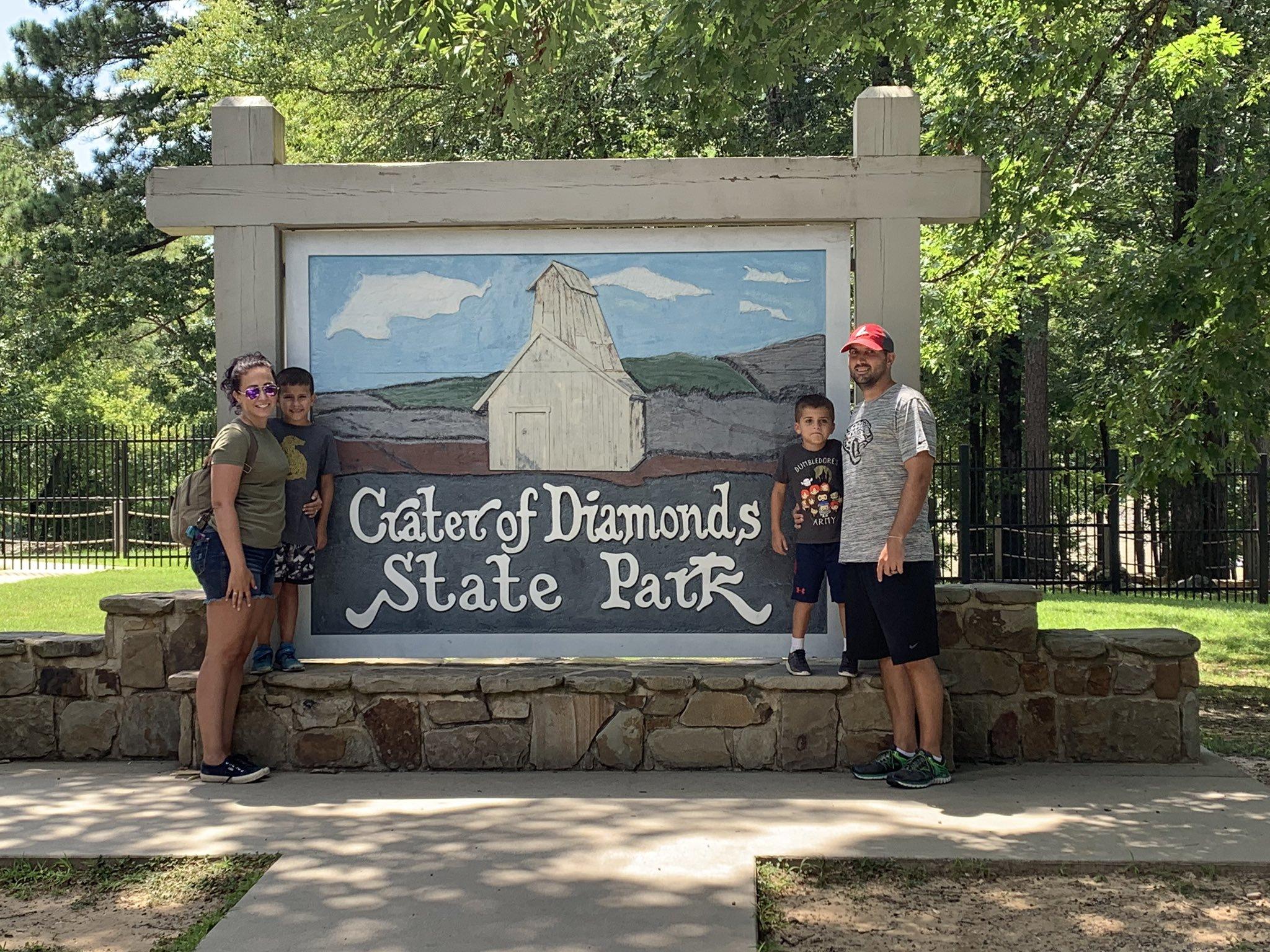 josh family crater of diamonds state park