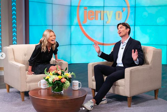kelly ripa on jerry o'connell show