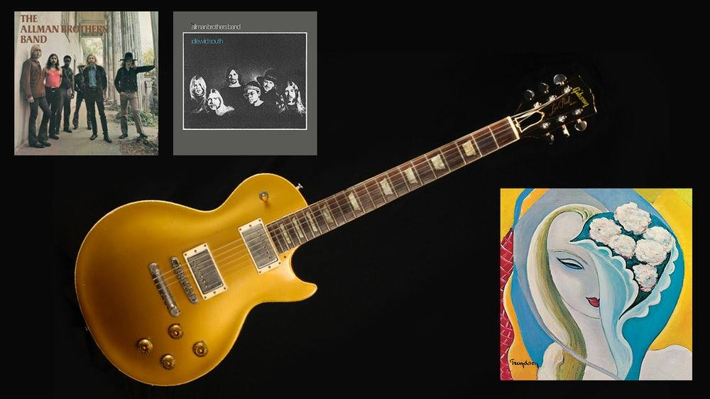 allman brothers guitar