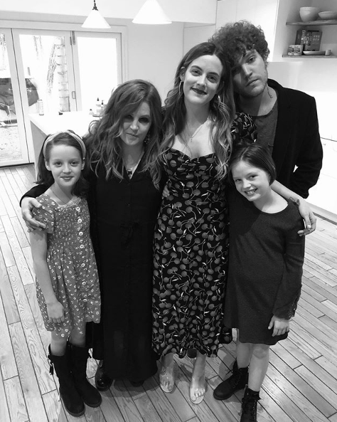 lisa marie presley and family