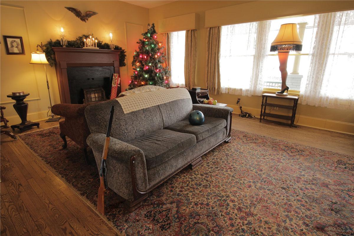 christmas story living room