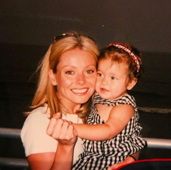 Kelly Ripa and baby Lola Consuelos