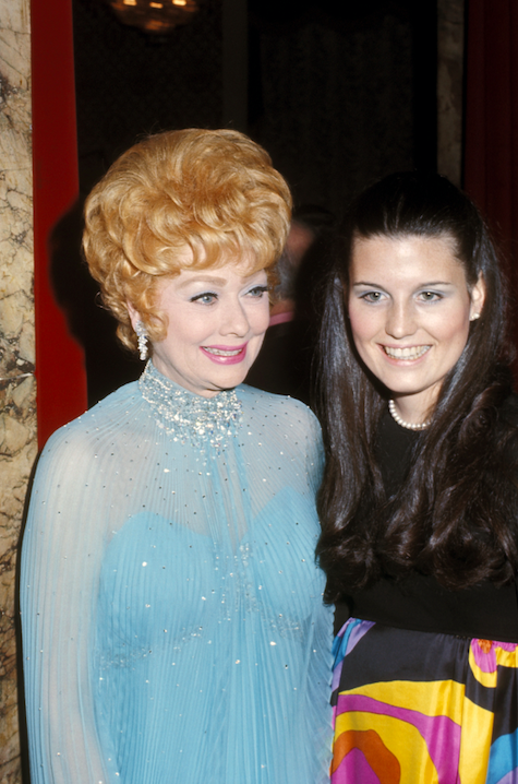 lucille ball and lucie arnaz in 1973