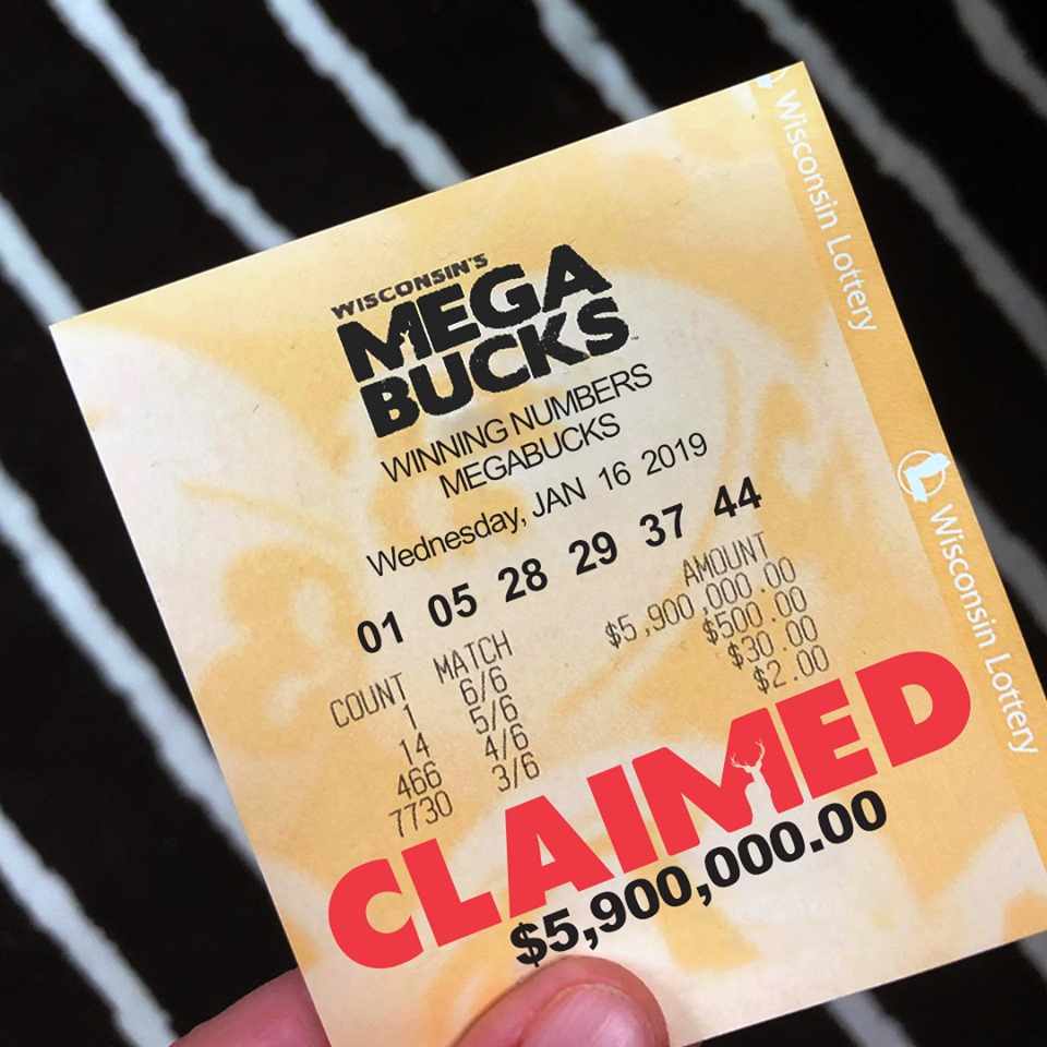 megabucks lottery ticket