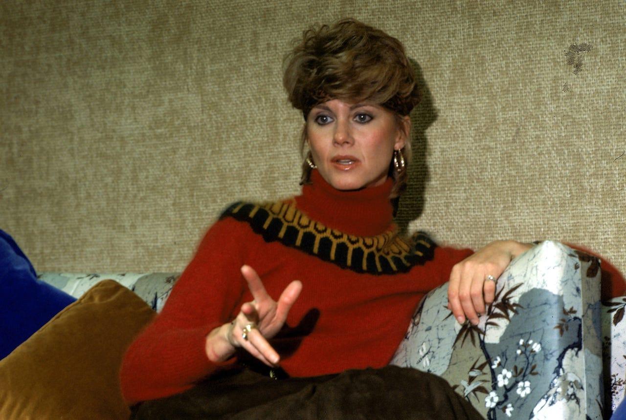 olivia newton-john in 1982