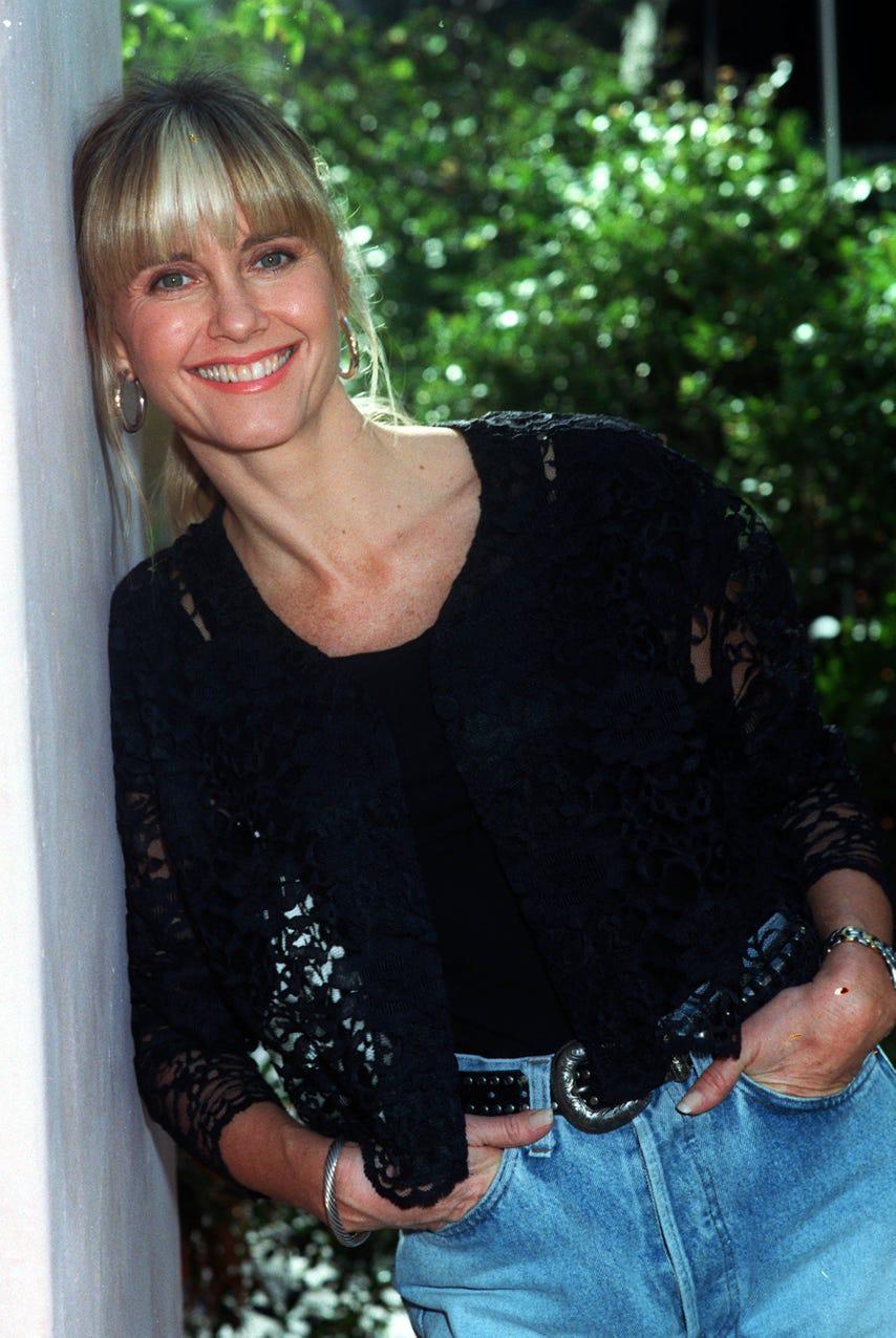 olivia newton-john in 1990