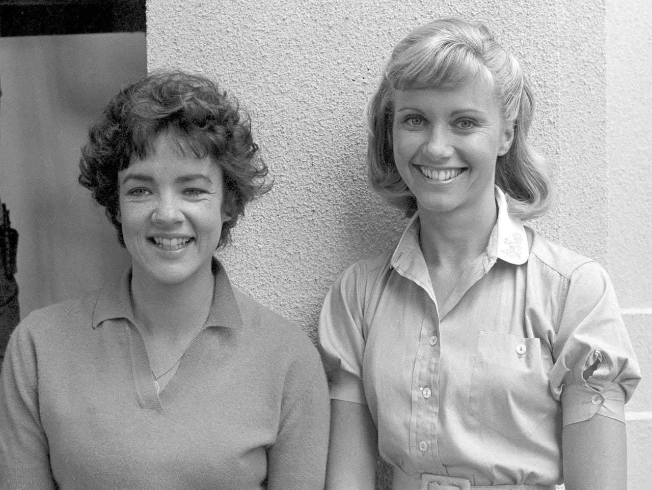 Olivia Newton-John and Stockard Channing in Grease