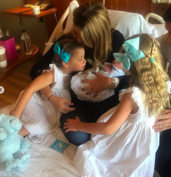 hager family welcomes new baby boy