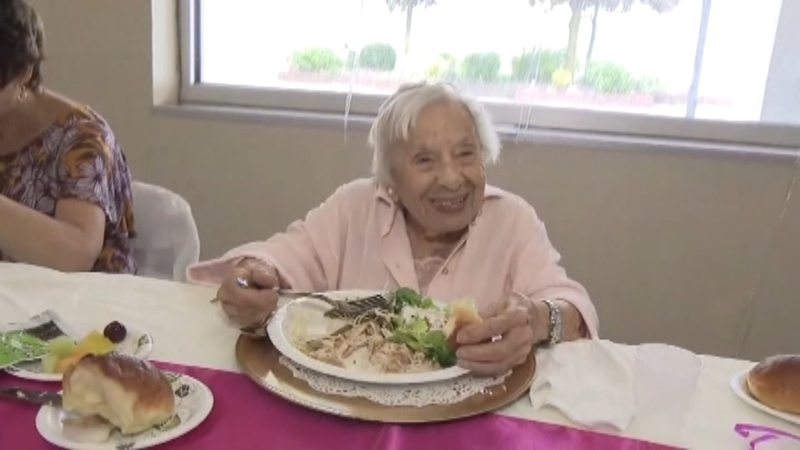107-year-old woman shares secret to long life