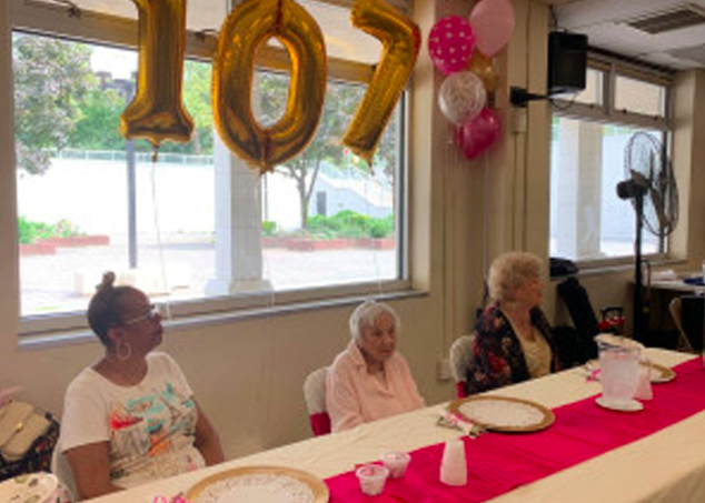 107-year-old woman shares secret to longevity