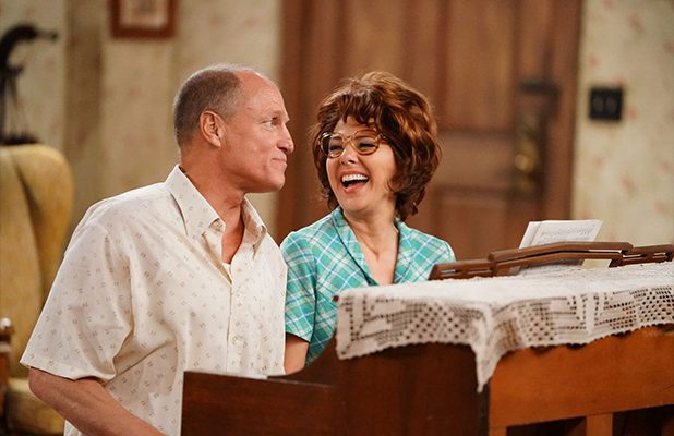 Woody Harrelson and Marisa Tomei