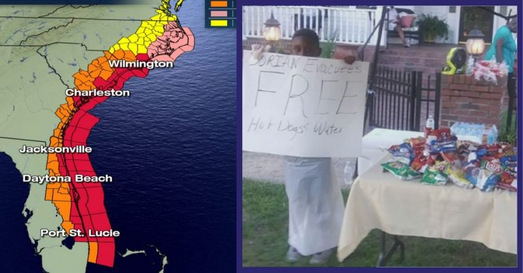 6-Year-Old Boy From South Carolina Uses Birthday Trip Money To Help Dorian Evacuees