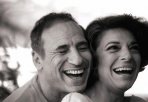 Anne Bancroft and Mel Brooks