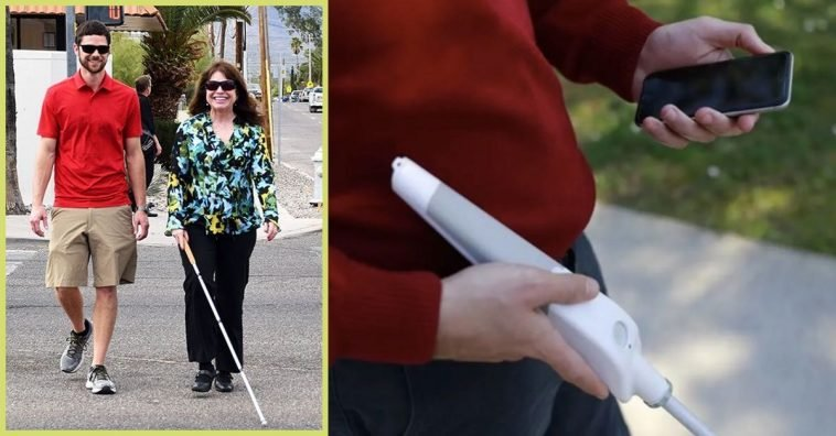 Blind Inventor Creates A _Smart Cane_ To Help The Visually Impaired Get Around Easier