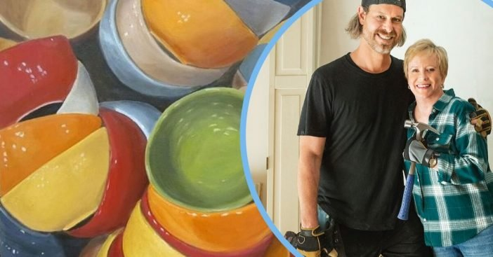 'Brady Bunch' Star Eve Plumb Is A Very Talented Painter