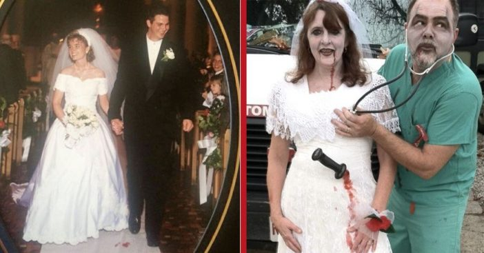 Brides Find The Perfect Way To Repurpose Their Wedding Gowns For Halloween