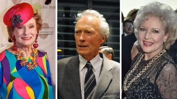 Celebrities In Their 90s