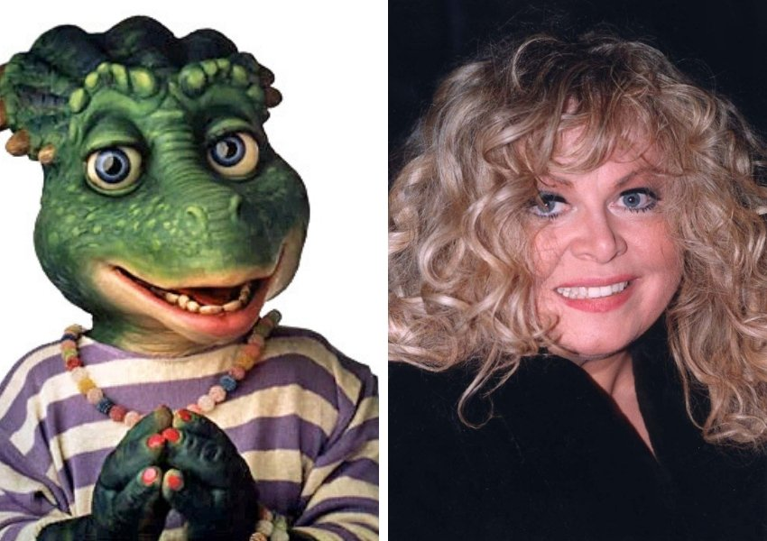 charlene sinclair sally struthers dinosaurs
