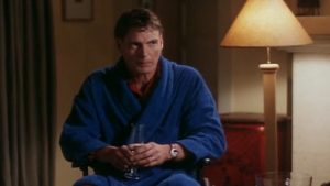 Christopher Reeve in Above Suspicion.