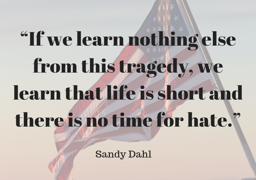 sandy dahl 9/11 quote