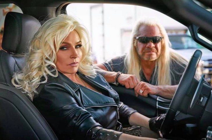 Beth and Duane 'Dog' Chapman posing for their promo photo on Instagram.
