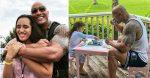 Dwayne Johnson and daughter Jasmine