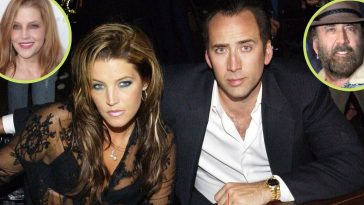 Exes Nicolas Cage and Lisa Marie Presley may just be getting back together