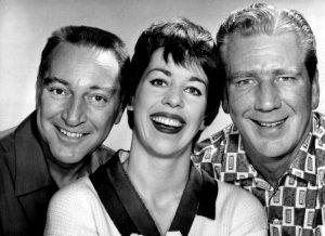 Garry Moore, Carol Burnett, Durward Kirby