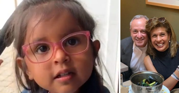 Hoda Kotb posted an adorable video of her daughter singing Happy Birthday while wearing pink glasses