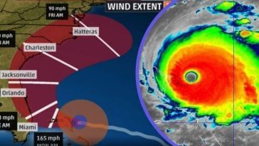 Hurricane Dorian Strengthens Into Historic Category 5 Storm