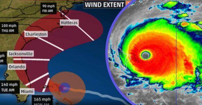 Hurricane Dorian Strengthens Into Historic Category 5 Storm