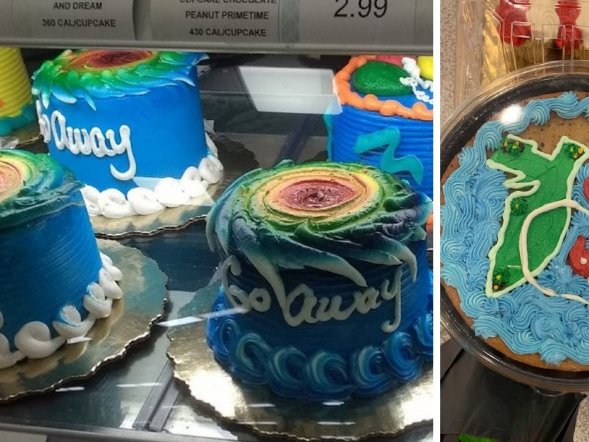 Wondrous Controversy Arises Over Hurricane Themed Cakes At Publix Funny Birthday Cards Online Fluifree Goldxyz
