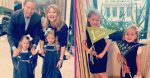 Jenna Bush Hager Adorable Photos Of Her Daughters Going Back To School