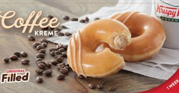 Krispy Kreme Is Selling Doughnuts Filled With Coffee-Flavored Cream