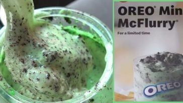 McDonald's Is Releasing An Oreo Mint McFlurry