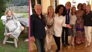 Olivia Newton-John Receives Surprise Get-Together From Oprah And Gayle King During Cancer Battle
