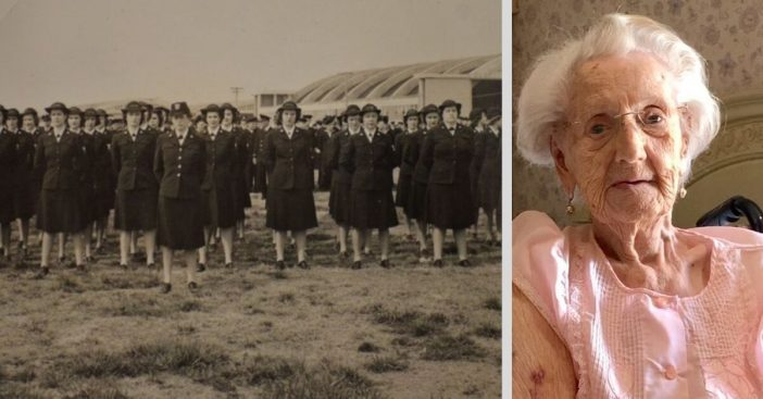 One of the last living female WWII veterans celebrates her 104th birthday