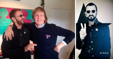 Paul McCartney joins Ringo Starr to cover a John Lennon song on Ringos new album
