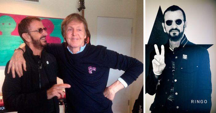 Paul McCartney joins Ringo Starr to cover a John Lennon song on Ringos new album