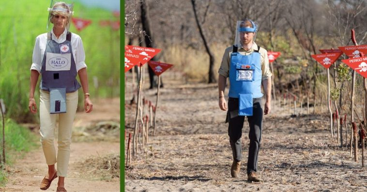 Prince Harry Following In Princess Diana's Footsteps By Visiting Angola Landmine Field