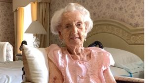 """Ruth """"Buttercup"""" Sparks is remarkable for her longevity, bravery, and status as one of the last living female WWII veterans"""