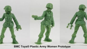 Scranton, PA Toy Company Now Creating Green Army Women