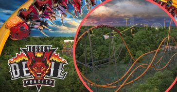 Six Flags To Debut World's Tallest, Fastest, And Longest Single Rail Coaster