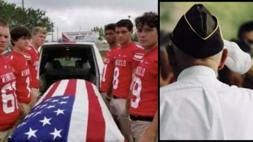 Six Teens Step In To Carry Casket For War Veteran Who Has No Male Relatives