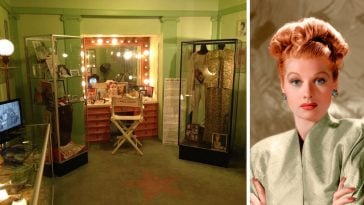 The Hollywood Museum has an exhibit that pays tribute to Lucille Ball and I Love Lucy