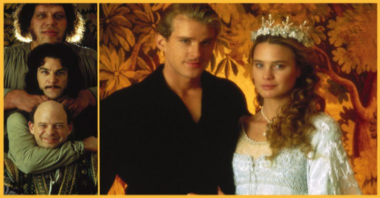 """Snaps from the motion picture, """"The Princess Bride""""."""