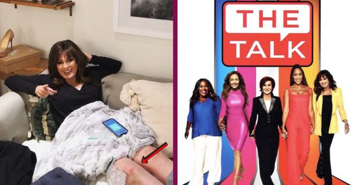 'The Talk' Co-Host Marie Osmond Shares Video Documenting Knee Injury